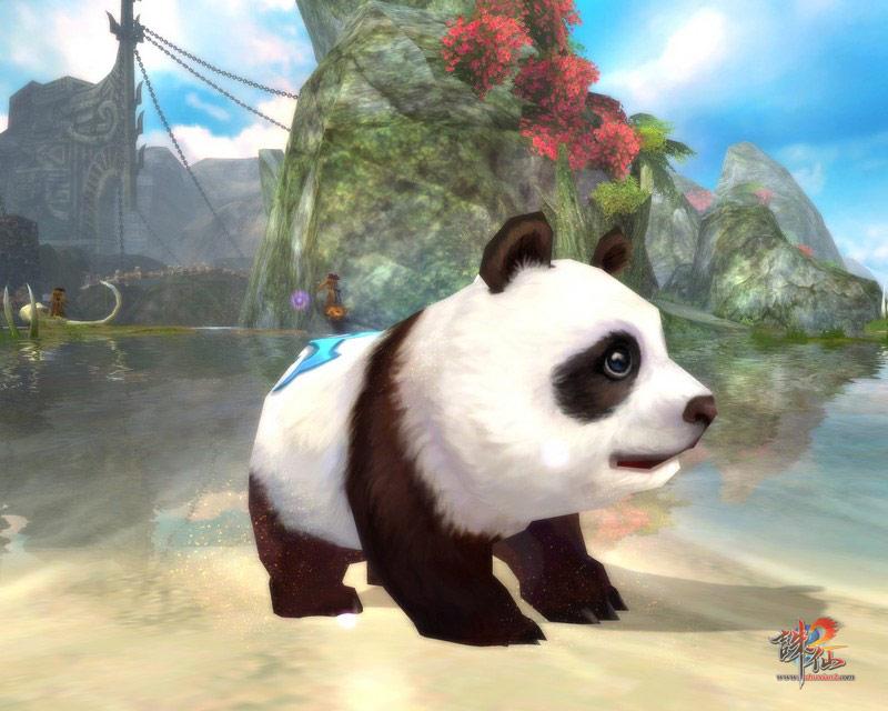 壁纸 大熊猫 动漫 动物 卡通 漫画 头像 800_640