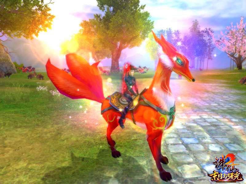 动态 畅爽/灵狐坐骑,也是赛马大会的种子选手