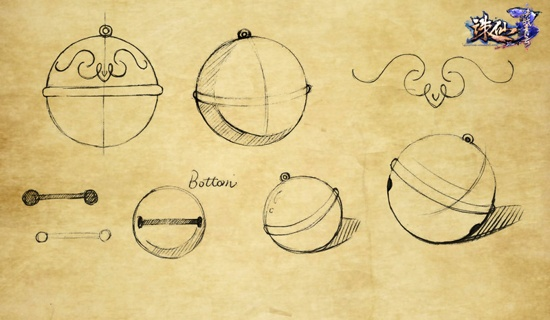 图片: 图1合欢铃手绘稿.jpg